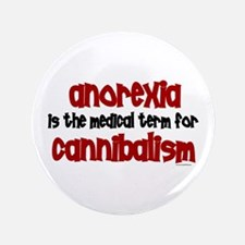 "Medical Term 1.3 (Anorexia) 3.5"" Button"