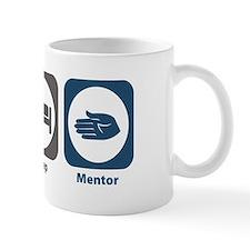 Eat Sleep Mentor Small Mug