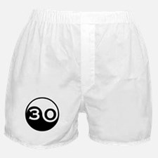 30th Birthday Boxer Shorts