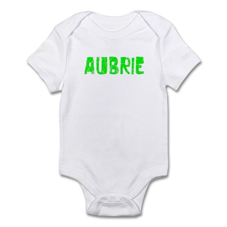 Aubrie Faded (Green) Infant Bodysuit