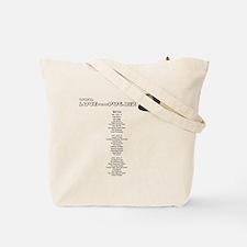 Funny Santana Tote Bag
