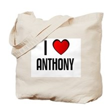 I LOVE ANTHONY Tote Bag