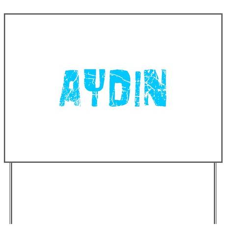 Aydin Faded (Blue) Yard Sign