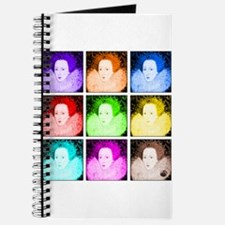 Pop Art Elizabeth I Journal