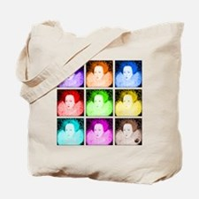 Pop Art Elizabeth I Tote Bag
