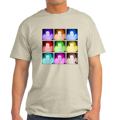 Pop Art Elizabeth I Light T-Shirt