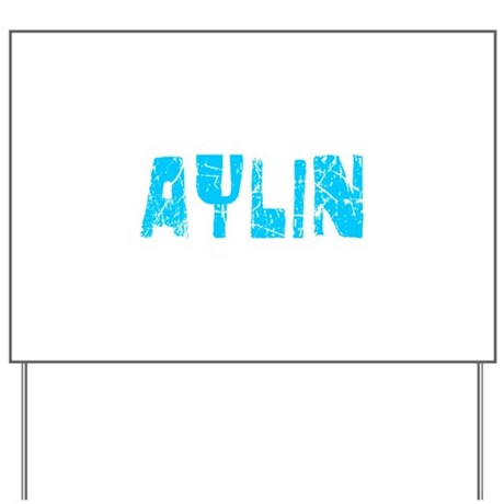 Aylin Faded (Blue) Yard Sign