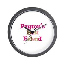 Payton's Best Friend Wall Clock