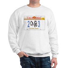 213 LINCENSE PLATE -- T-SHIRT Sweatshirt