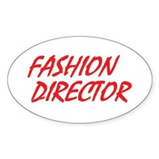 Fashion Director Oval Decal