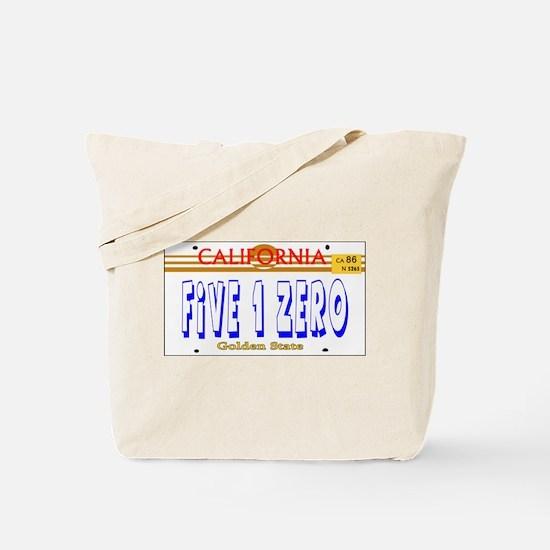 510 LINCENSE PLATE -- T-SHIRT Tote Bag