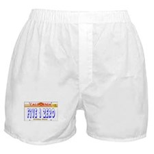 510 LINCENSE PLATE -- T-SHIRT Boxer Shorts