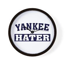 Yankee Hater (Yankees Suck) Wall Clock