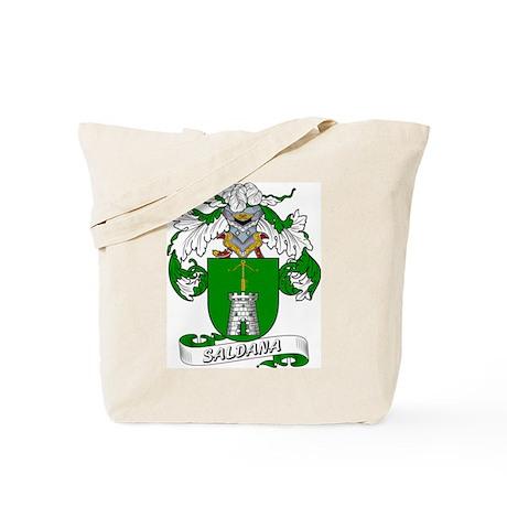 Saldana Family Crest Tote Bag
