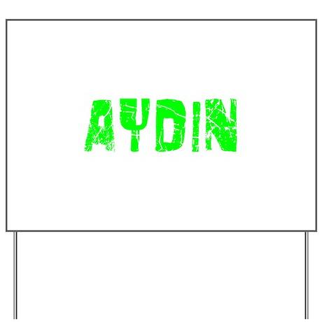 Aydin Faded (Green) Yard Sign
