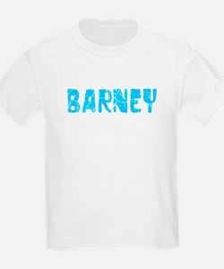Barney Faded (Blue) T-Shirt