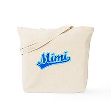 Retro Mimi (Blue) Tote Bag