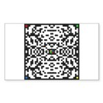 Data-Blocker OUTBreak(in) Rectangle Sticker