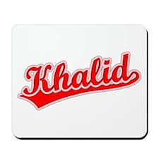 Retro Khalid (Red) Mousepad