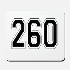 260 Mousepad