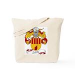 Sanz Family Crest Tote Bag