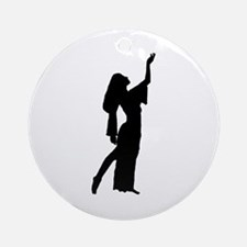 Egyptian Pose Keepsake (Round)