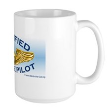 """Merlin """"Private Pilot Wings"""" Mug"""