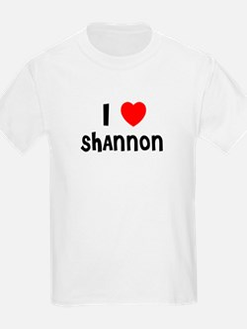 I LOVE SHANNON Kids T-Shirt