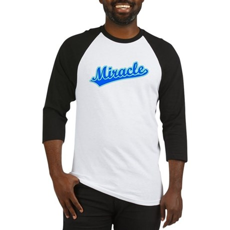 Retro Miracle (Blue) Baseball Jersey