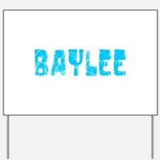 Baylee Faded (Blue) Yard Sign