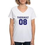 Theriault 08 Women's V-Neck T-Shirt