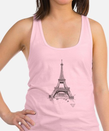 Sketch of the Eiffel Tower 1905 Tank Top