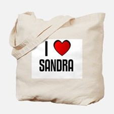 I LOVE SANDRA Tote Bag