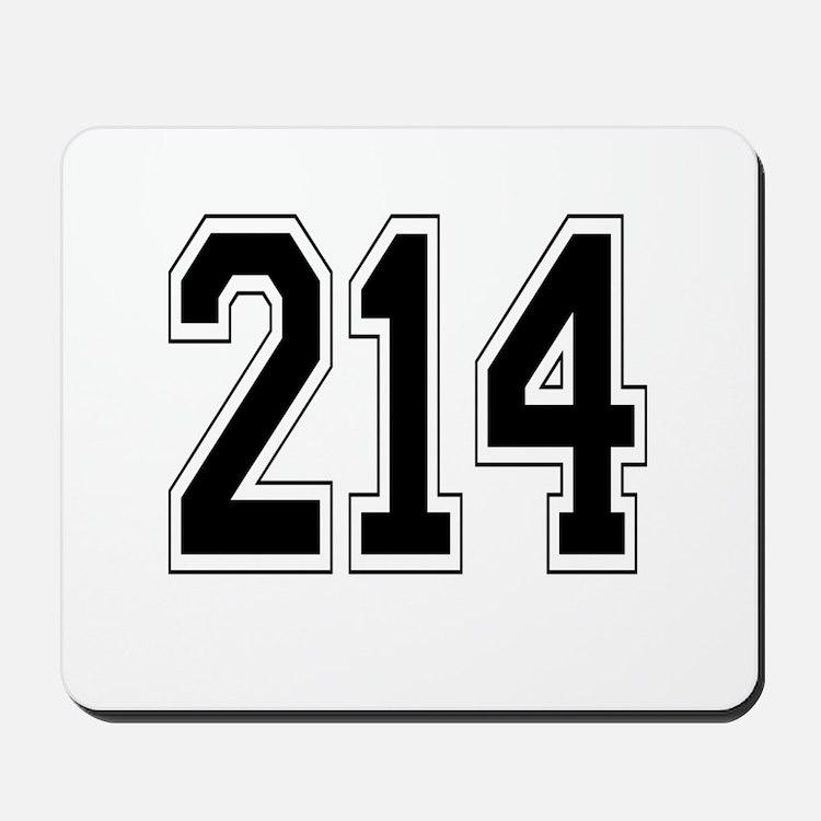 214 Mousepad