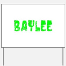 Baylee Faded (Green) Yard Sign