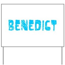 Benedict Faded (Blue) Yard Sign
