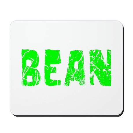 Bean Faded (Green) Mousepad