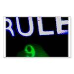 Rule 9 nRe:verse Rectangle Sticker
