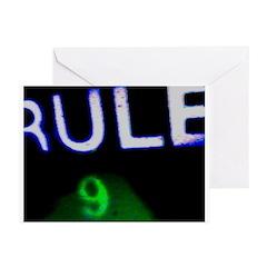 Rule 9 nRe:verse Greeting Cards (Pk of 10)