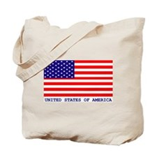 U.S.A. FLAG Tote Bag