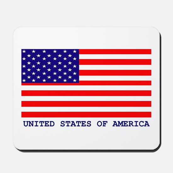 U.S.A. FLAG Mousepad