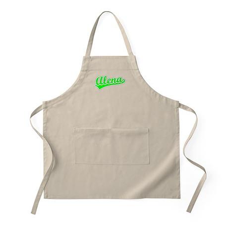 Retro Alena (Green) BBQ Apron