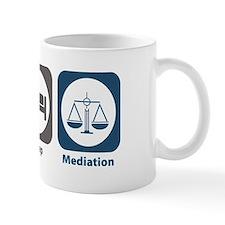 Eat Sleep Mediation Mug