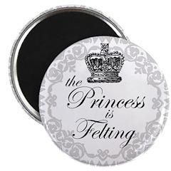 The Princess is Felting 2.25
