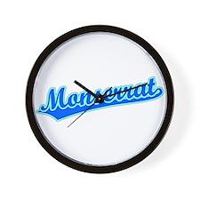 Retro Monserrat (Blue) Wall Clock