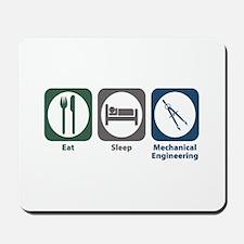 Eat Sleep Mechanical Engineering Mousepad