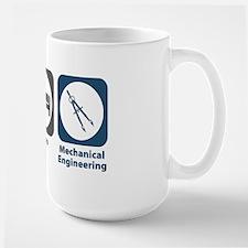 Eat Sleep Mechanical Engineering Large Mug