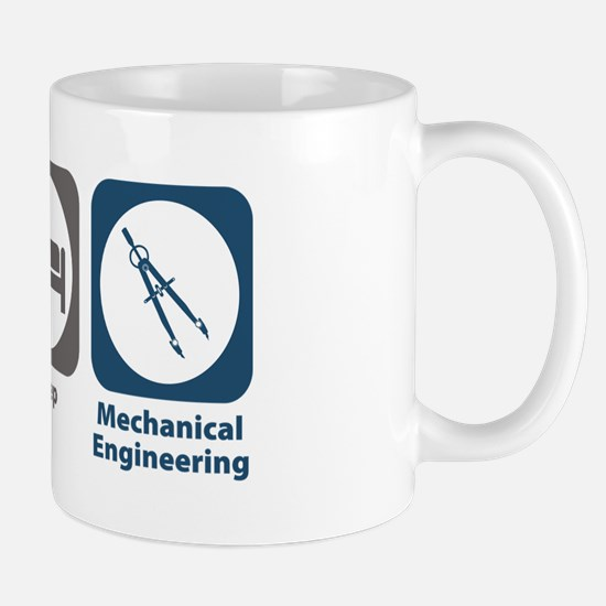 Eat Sleep Mechanical Engineering Mug