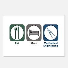 Eat Sleep Mechanical Engineering Postcards (Packag