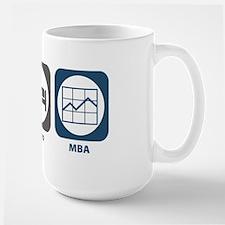 Eat Sleep MBA Large Mug